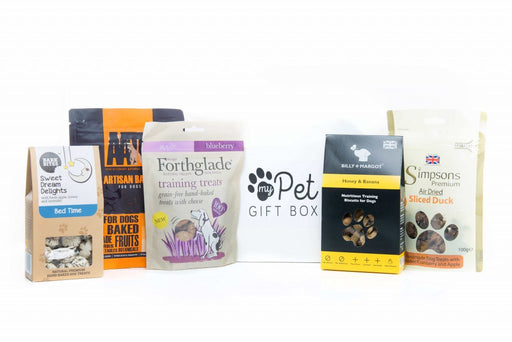 The Luxury Natural Dog Treats Gift Box - My Pet Gift Box - My Pet Gift Box