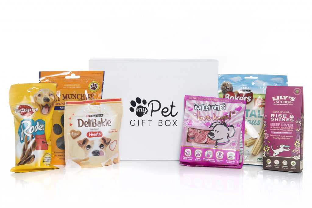 The Good Girl Dog Treats Gift Box - My Pet Gift Box - My Pet Gift Box