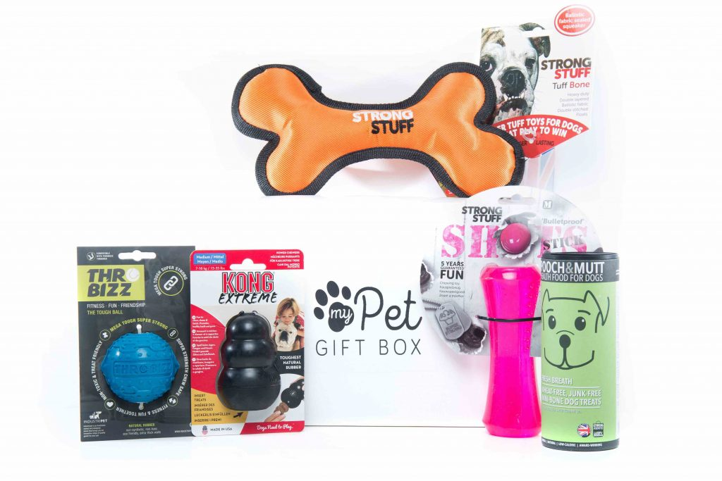 The Tough Chewers Gift Box For Dogs - My Pet Gift Box - My Pet Gift Box