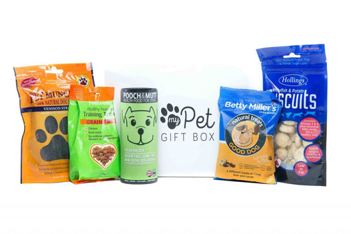The Wheat Free Natural Dog Treats Box