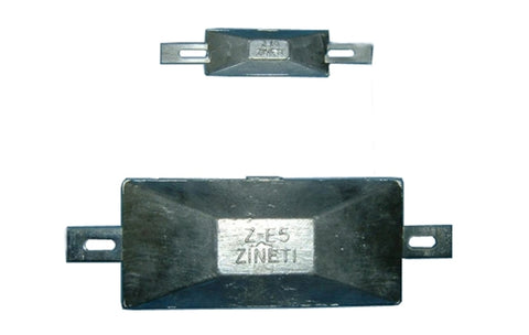 Bolt-On Plaque Type zinc anode ZE-1