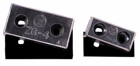 Bolt on plaque type zinc anode ZG-2