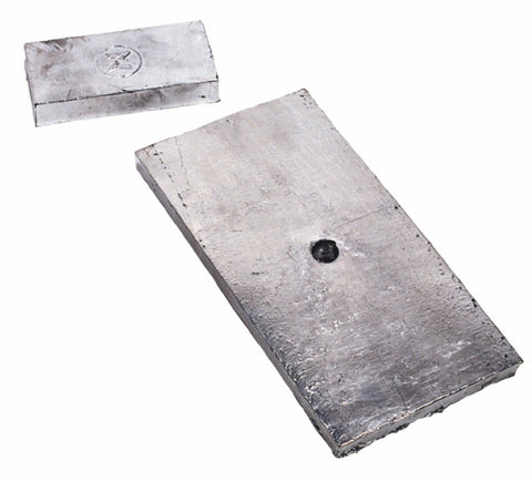 Plate type zinc anode for machining Z-2.900