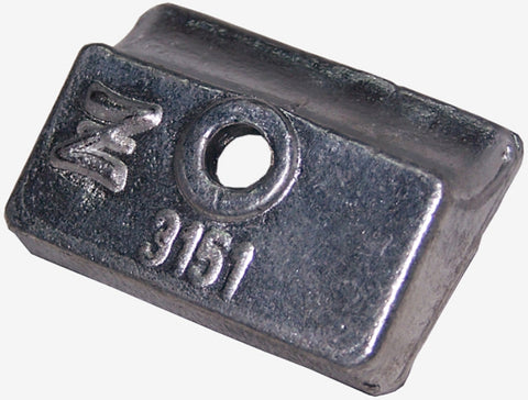 Zineti Zinc Anode For OMC-JOHNSON EVINRUDE Z-3.150