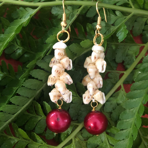 !! PICK-A-PEARL  NIIHAU EARRING WORKSHOP (STAY-AT-HOME)