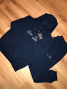 Navy Luxe Tracksuit
