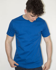 Luxury Plain Blue Tshirt
