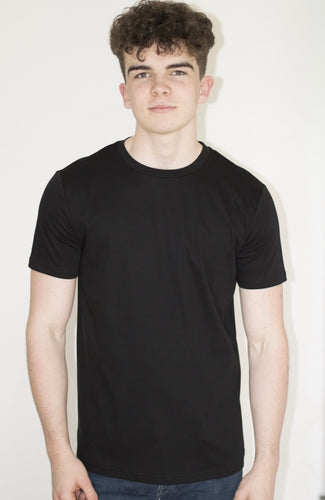 Luxury Plain Black Tshirt