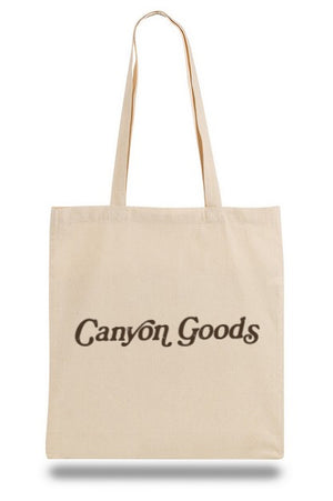 Canyon Goods canvas tote