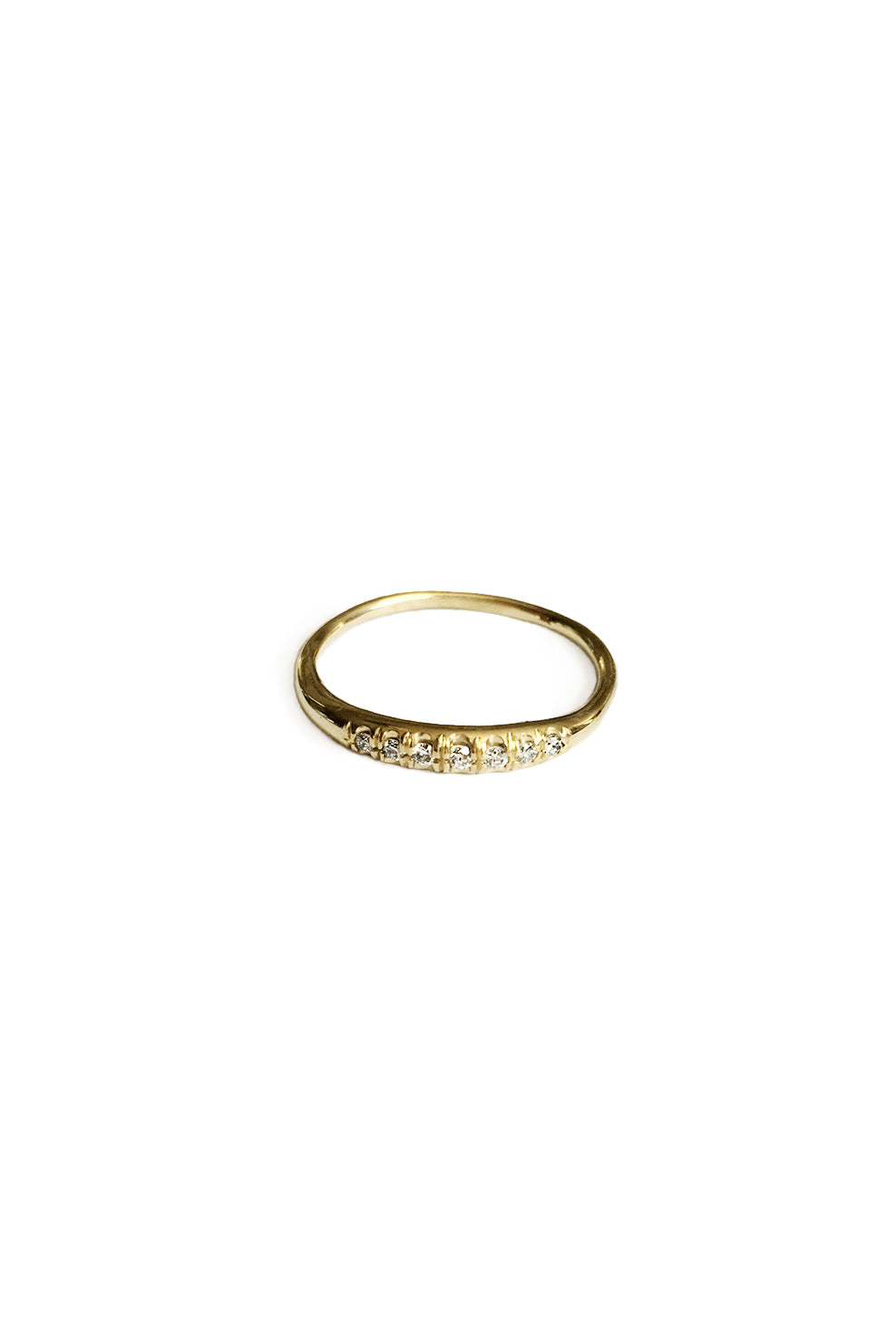 Diamond Light Balance Ring | Gold