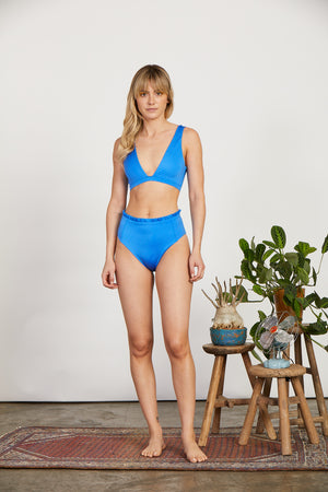 April Top | Sky Blue