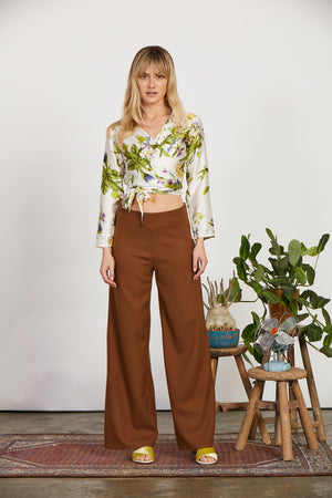 Wallflower Wrap Top