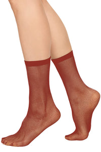 Liv Net Socks | Wine