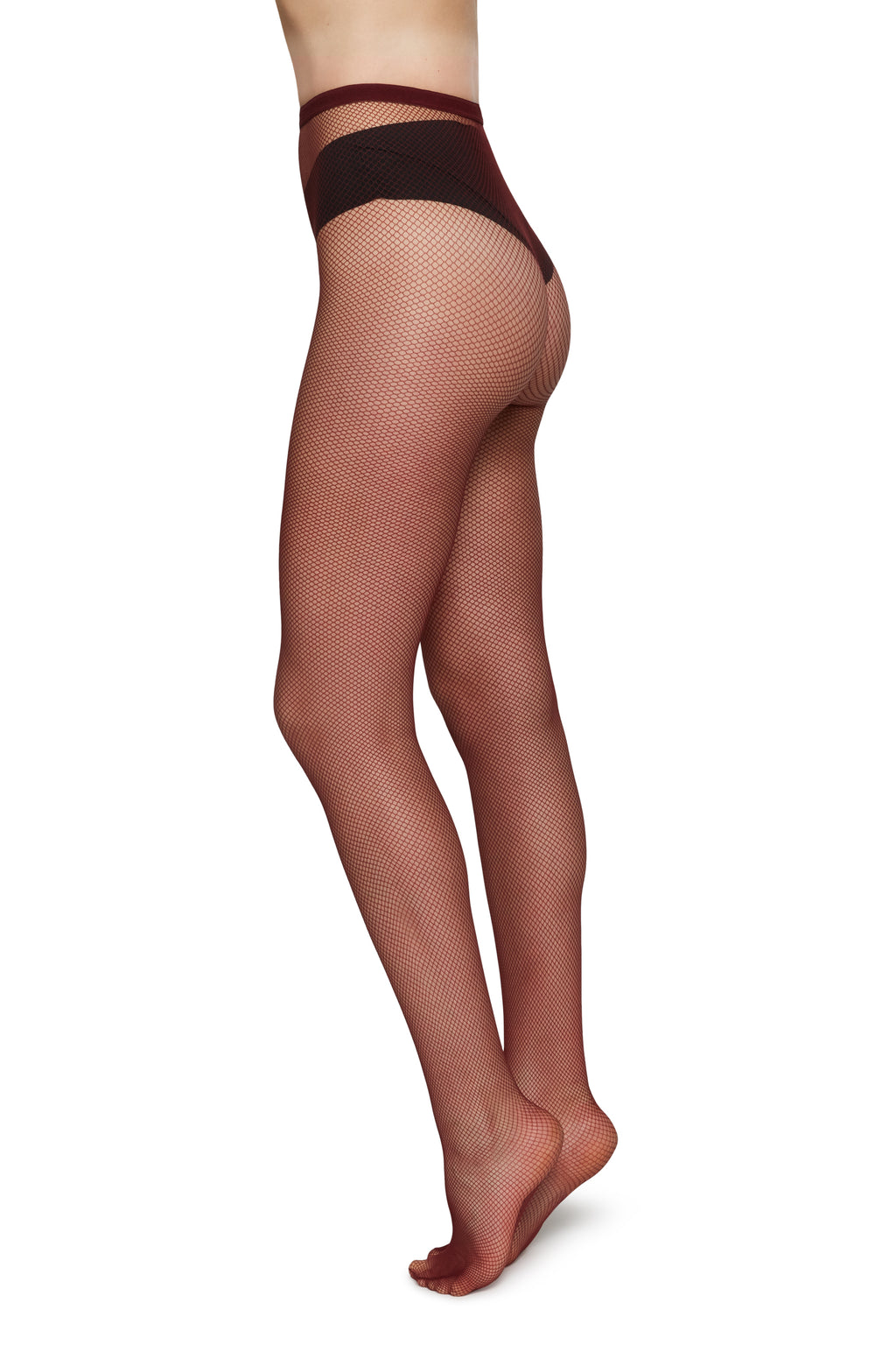 Liv Net Tights | Wine