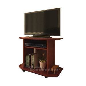 Mesa Tv Lcd Led Audio Video Con Ruedas - Mueble Armado
