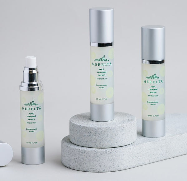Mereltä Root Renewal Serum for Men 3-Pack