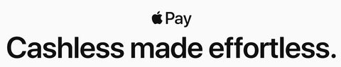 Apple Pay. Cashless made effortless