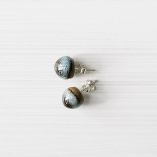 Acorn Studs | Woodfolk Natural Accessories -Jewellery- Jade and May