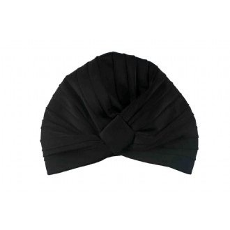 Amelie Shower Cap in Black | Louvelle Shower Cap -Beauty & Botanicals- Jade and May