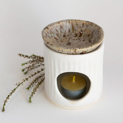Ceramic Oil Burner | Kim Wallace Ceramics -Ceramics- Jade and May