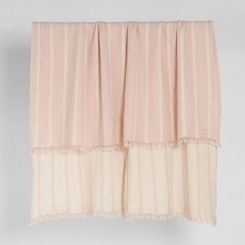 Enes Throw in Dusty Pink | Saarde -Blankets and Throws- Jade and May