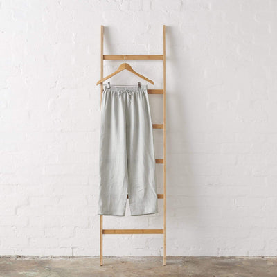 Harbour Mist Linen PJ Pant - Long Length | Jade and May -Pajamas- Jade and May