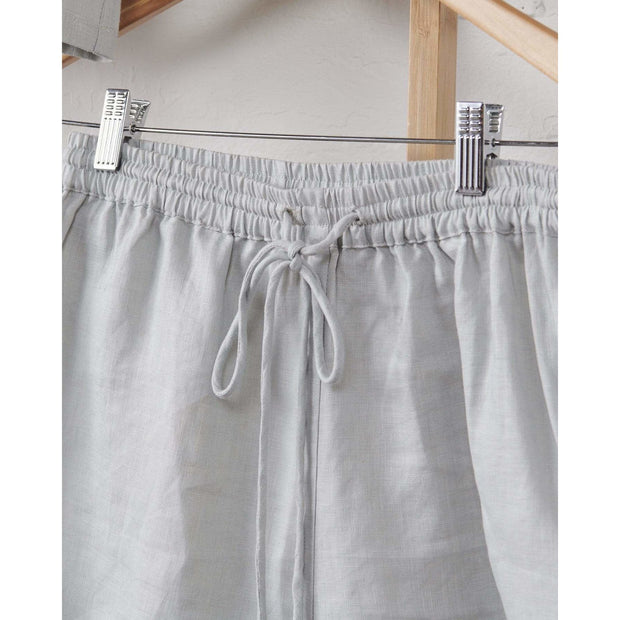 Harbour Mist Relaxed Linen Shorts | Jade and May -Pajamas- Jade and May