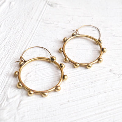 Hebba Hoop Earrings | Hamimi -Jewellery- Jade and May