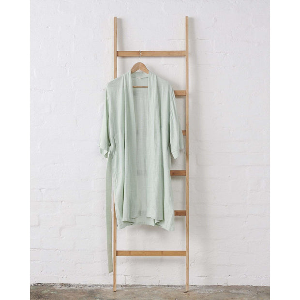 Jade and May - Textured 100% Cotton Kimono in soft Mint -Kimono- Jade and May