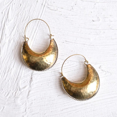 Kamah Crescent Earrings | Hamimi -Jewellery- Jade and May