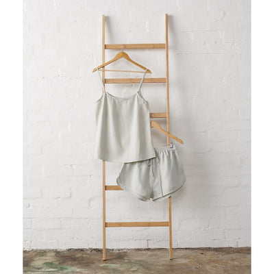 Linen Cami and Shorts Set in Harbour Mist | Jade and May -Pajamas- Jade and May
