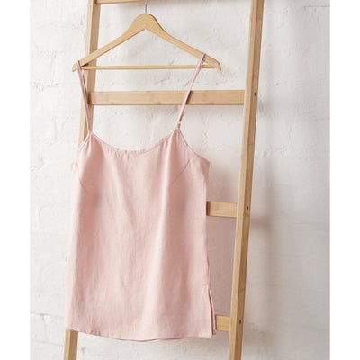 Linen Cami in Dusky Rose Jade and May -Pajamas- Jade and May