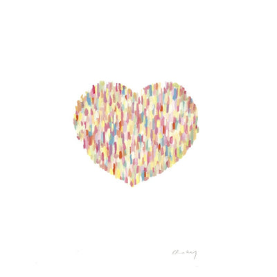 Love Loves Limited Edition Print | Kerrie Knuckey Art -Art- Jade and May