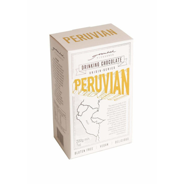 Peruvian Drinking Chocolate 200gm | Grounded Pleasures -Hot Chocolate- Jade and May