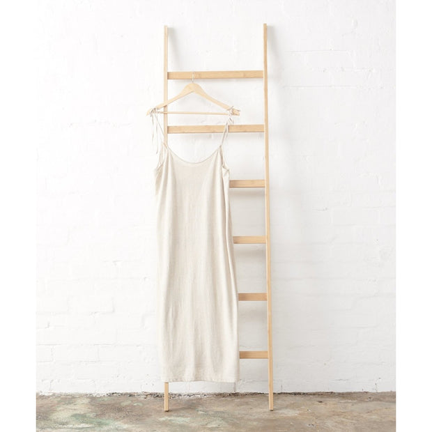 Strappy Nightie in Natural Hemp Cotton Jersey | Jade and May -Nightie- Jade and May