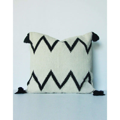 Tribal Zig Zag Floor Cushion | Saarde *PICK UP GEELONG STORE ONLY -Floor Cushion- Jade and May
