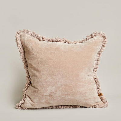 Velvet Cushion - Latte | Saarde -Cushion- Jade and May