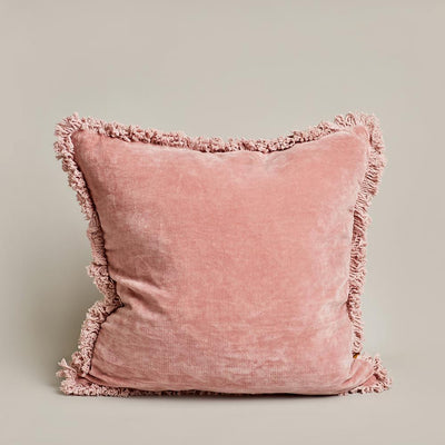 Velvet Cushion - Pink | Saarde -Cushion- Jade and May