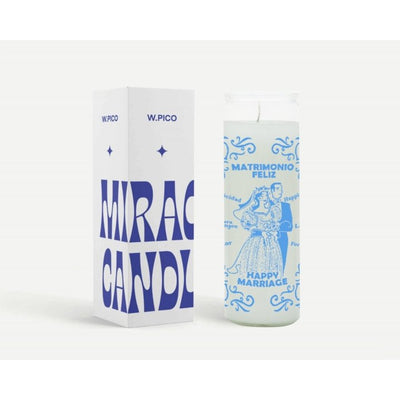 W Pico Miracle Candle - Happy Marriage -W Pico Candles- Jade and May