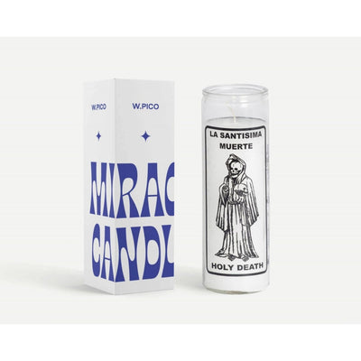 W Pico Miracle Candle - Holy Death -W Pico Candles- Jade and May