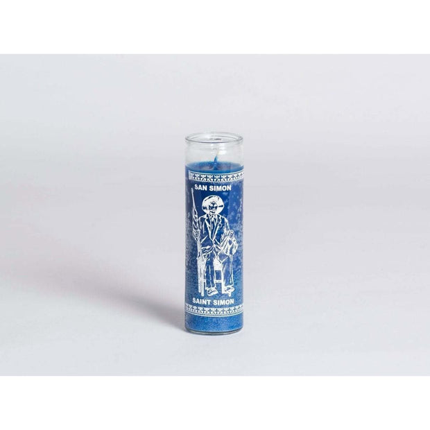 W Pico Miracle Candle - St Simon (Safety) -W Pico Candles- Jade and May