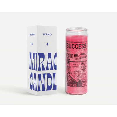 W Pico Miracle Candle - Success -W Pico Candles- Jade and May