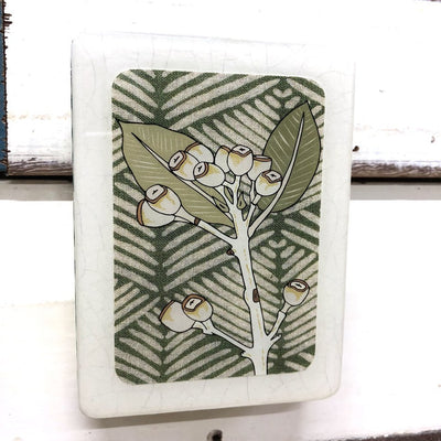 Woodblock Art - Gum Nuts | Lost and Found Art Co -Art- Jade and May