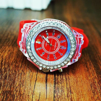 LED Ladies WristWatches