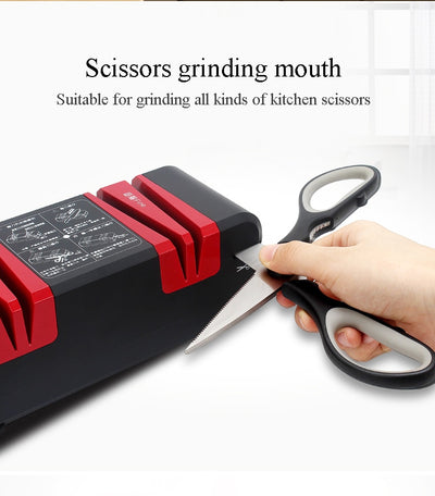 Quick knife sharpener household electric kitchen knife cutter sharpener