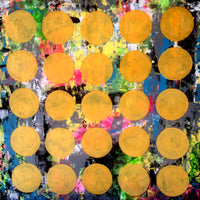 SOLD Sunny Bubbles Art Modern Abstract Paintings  SOLD