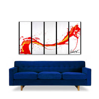 The Red Dragon - SOLD  Special Request