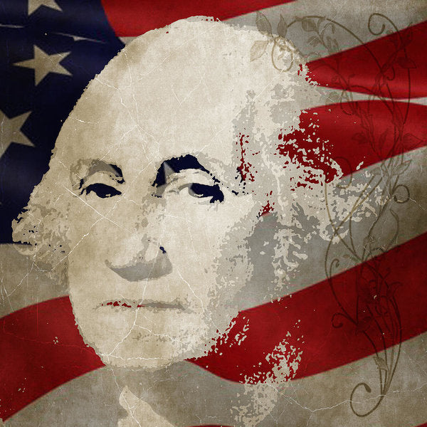 George Washington American Patriot  - Art Print