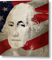George Washington American Patriot  - Metal Print