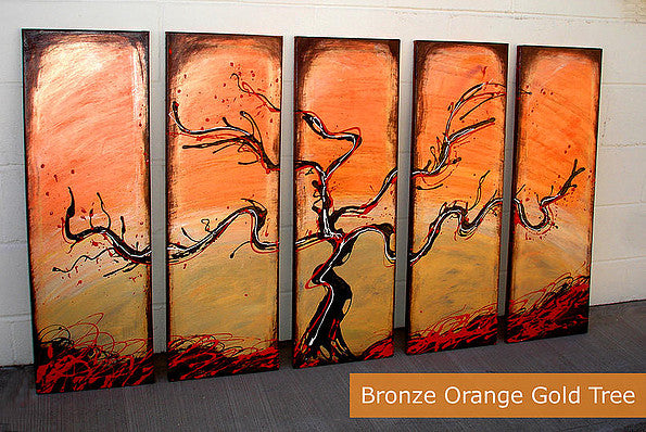 tree painting espresso art abstract painting original online art gallery sale art sale oil painting japan new york miami florida gallery abstract texture gold bronze copper silver red painting online gallery